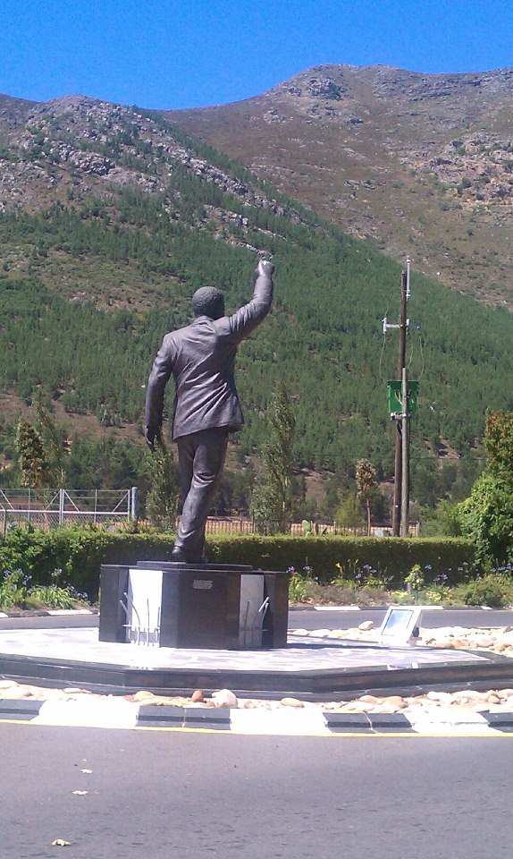 Statue in Paarl