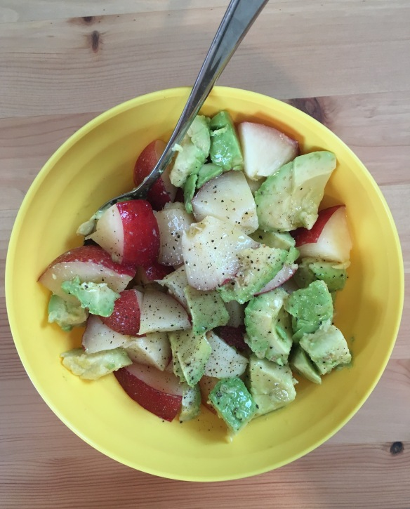 Avocado Nectarine Salad 2